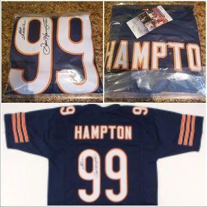 Dan Hampton signed jersey